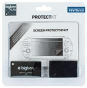 Bigben Displayschutz Protection Kit für PSVita slim (PSV) DE-Version