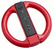 Lenkrad Bigben Wii Drive rot (WII WIIU) DE-Version