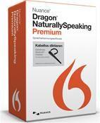 Nuance Dragon NaturallySpeaking 13 Premium Wireless (DE) Win