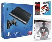 Sony PlayStation 3 (12 GB) inkl. Fifa 15, HDMI Kabel (PS3) DE-Version