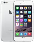 Apple iPhone 6 Apple iOS, Smartphone  in silver  with 64.0 GB storage