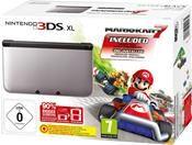 Nintendo 3DS XL schwarz/silber inkl. Mario Kart Limited Edition (3DS) DE-Version