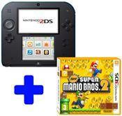 Nintendo 2DS schwarz inkl. New Super Mario Limited Edition (3DS) DE-Version