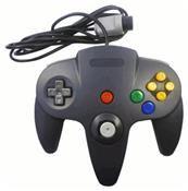 Eaxus Gamepad für N64 (Nintendo 64) Schwarz DE-Version