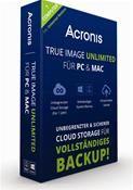 Acronis True Image 2015 Unlimited für PC & MAC (PC MAC) DE Mini Box