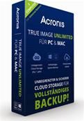 Acronis True Image 2015 Unlimited für PC & MAC (3 Computer) (PC MAC) DE Mini Box