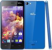 Wiko Highway Signs Android™, Smartphone  in blau  mit 8 GB Speicher