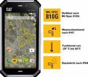 Caterpillar CAT® S50 Android™, Smartphone  in silber  mit 8 GB Speicher