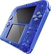 Nintendo 2DS Transparent Blau inkl. Pokemon Alpha Saphir (3DS) DE-Version
