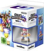 Super Smash Bros + amiibo smash Mario Figur (WIIU) DE-Version
