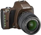 Pentax K-S1 Kit linen brown + DAL 18-55