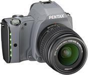 Pentax K-S1 Kit tweed gray + DAL 18-55