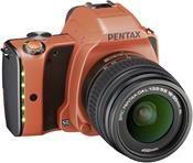 Pentax K-S1 Kit sunset orange + DAL 18-55