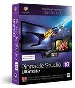 Pinnacle Studio 18 Ultimate Windows - DVD