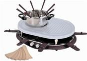 Efbe Schott SC RAC 900 CC Raclette-Fondue-Kombination aubergine
