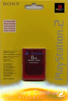 Sony Memory Card 8 MB rot
