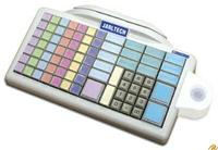 Jarltech Keyboard 8031  Kassentastatur mit 105 frei programierba ren Tasten, Anschluss über Tastatur- weiche oder RS232-Schnittstelle. Ohne Tastenkappen und Schlüsselmodule.