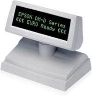 Epson Display DM-D110 BA schwarz  Kundendisplay mit RS232-Schnittstelle. Ohne Kabel und Netzteil. Kann sich das Netzteil mit einem Epson Drucker teilen. Farbe: Schwarz.