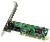 Hama Fast Ethernet LAN-Karte PCI 10/100 Mbps