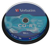 Verbatim CD-R 80 Minuten 700MB 52x Extra (Article no. 90141188) - Picture #1