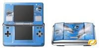 Modding Skin DS [Delphin]  Aufkleber für Nintendo DS Konsole [Delph Nintendo DS Zubehör, deutsch