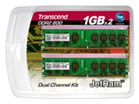 Transcend JetRAM 2GB DDR2 Kit (item no. 90216294) - Picture #1
