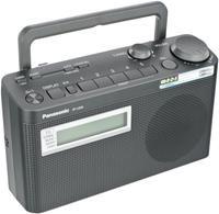 Panasonic RF-U300EG-K Tragbares Radio  schwarz, RDS, PLL Tuner, LC-Display, mono