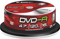 Emtec DVD-R 4.7GB 16X 25er Spindel (#360515NEW)