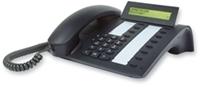 T-Com Comfort Open P 100 schwarz-blau IP Basissystemtelefon, 2-zeiliges (Article no. 90230353) - Picture #1