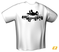 T-Shirt SUPERCHASIN white Gr.XXL