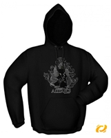 Kapuzensweater FOR THE ALLIANCE black (Article no. 90237528) - Picture #1
