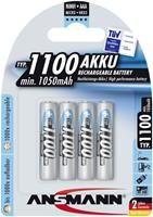Ansmann Akku NiMH Micro AAA 1100mAh     ,