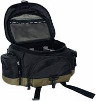 Canon 10EG Deluxe Gadget Bag  schwarz, Nylon, Kameratasche für EOS für 2 Gehäuse und bis zu 8 Objektiven. Abnehmbarer Trageriemen und gepolsterter Griff. Innenmaß: 28x22x20cm