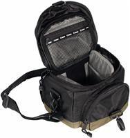 Canon 100EG Custom Gadget Bag schwarz  Kameratasche für EOS, wetterfest, Schultertrageriemen, zusätzliche Fächer für Objektiv, Flash, 18x23x14cm