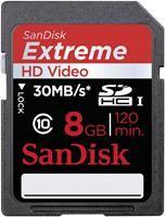 SanDisk Extreme SDHC UHS-I Karte SDSDX-008G-X46 8GB