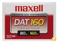 Maxell 8mm Kassette 150m 80/160GB DAT160 (item no. 90254752) - Picture #1