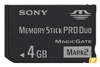 Sony Memory Stick PRO Duo Mark II  4GB (item no. 90272899) - Picture #1