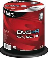 Emtec DVD+R 4.7GB 16X 100er Spindel