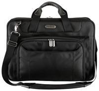 Targus Corporate Traveller Ultralite     ,   für Notebooks bis 39.1cm/15.4', schwarz, SafePort Luftpolstersystem, Organisationsfächer, gepolsterter Schultergurt, Nylon