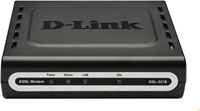 D-Link DSL-321B/DE DSL Modem Bis zu 24 Mbit/s Downstream und 2 Mbit/s Upstream, ADSL/ADSL2/ADSL2+, Traffic- Shaping, Kindersicherung