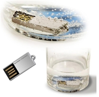 Super Talent UFD Pico C capless 4GB USB2.0, lesen 30MB/s