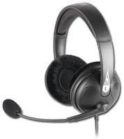 Sharkoon Rush Gaming Headset  3.5mm Klinke, Stereo, mit Lautstärke- regler im Kabel, schwenkbares, felxibles Mikrofon, mit Stummschaltung