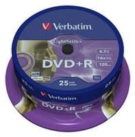 Verbatim DVD+R 4,7GB 16X Lightscribe (Article no. 90295677) - Picture #1