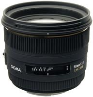 Sigma 50/1.4 EX DG HSM M/AF
