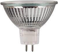 Xavax Halogen-Spiegelreflektor   ,   Sockel G5.3, 35W, 12V, 1000cd, 2900K, ca. 3000h, dimmbar, Niederdruck, Kaltlicht, 2 Stück