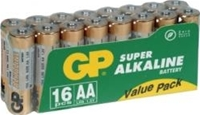 GP Batterie Super Alkaline LR06 AA, ValuePack, 16er Pack