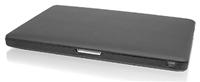 Macally Bookshell Pro MacBook Pro 2 15'  Schutzhülle für MacBook Pro 15', lederverkleidet, innen gefüttert, schwarz