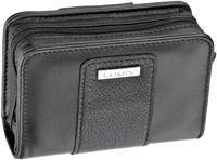 Panasonic DMW-PHH14X-EK schwarz  Leder, für Lumix DMC-TZ4/TZ5/TZ6/TZ7, TZ8, TZ10, Innenmaß: 6x10.3x3.3cm
