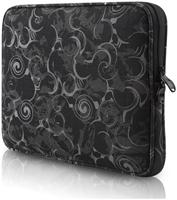be.ez LA robe Volute Black für Notebooks bis 29.6cm (15.6') für MacBook Pro 39.1cm/15.4', innen schwarz, LRPu-Technologie, Stärke der äusseren Schutzschicht 5mm, Innenfach für maximalen Schutz, Verwendung allein oder in grösserer Tasche, Schluss mit Kratzern auf Ihrem Notebook,