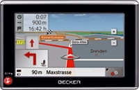 Becker Traffic Assist Z 103 10.9cm Touch-Screen, Europa (Article no. 90329221) - Picture #1